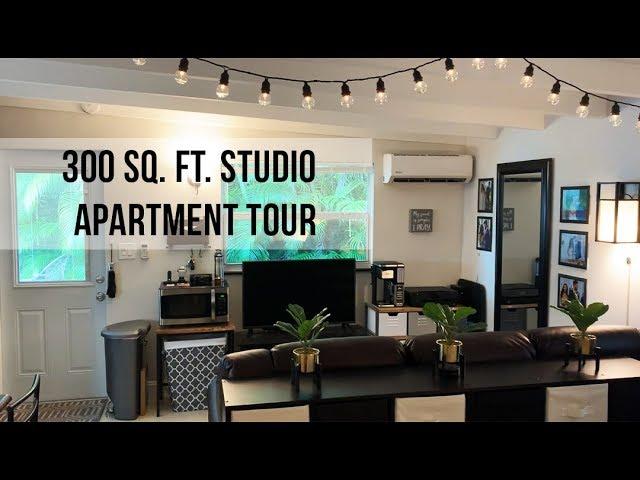 300 Sq Ft Studio Apartment Tour