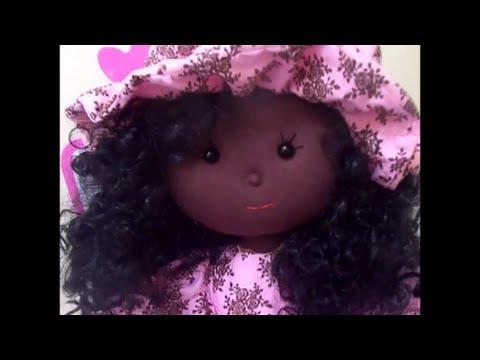 Passo A Passo Boneca Negra Terceira Parte Youtube