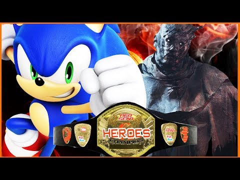 Sonic vs The Wraith | Heroes Championship | WWE 2K17 [s7e6]