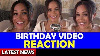 Meghan's Birthday VIDEO REACTION / Meghan and Harry Latest News