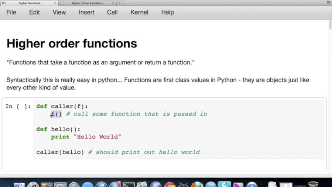 Python Map Function Higher Order Functions with Python   sorted/map/filter/reduce and  Python Map Function