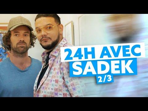 24H avec Sadek : En immersion dans le monde du cinéma et rencontre avec Romain Duris