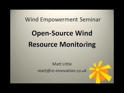 Wind Empowerment Webinar - Open Source Data-logging