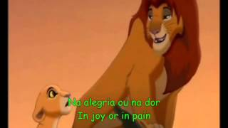The Lion King 2 - We Are One (Brazilian Portuguese) Subs & Trans