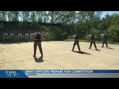 Austin Police SWAT Team Ready To Compete Against Other Teams
