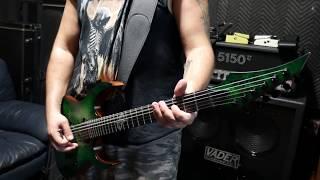 Solar Guitars S1.6HLB Lime Burst Matte