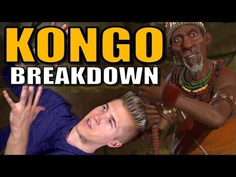 Civilization 6: Gameplay - Kongo [Leader Strategy Breakdown]