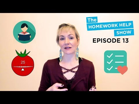 How to Create an Effective Study Routine and the Pomodoro Technique | The Homework Help Show EP 13