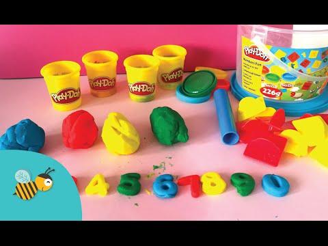 Cijfers Leren In Het Nederlands & Engels Met Play Doh - BeeKidsTV