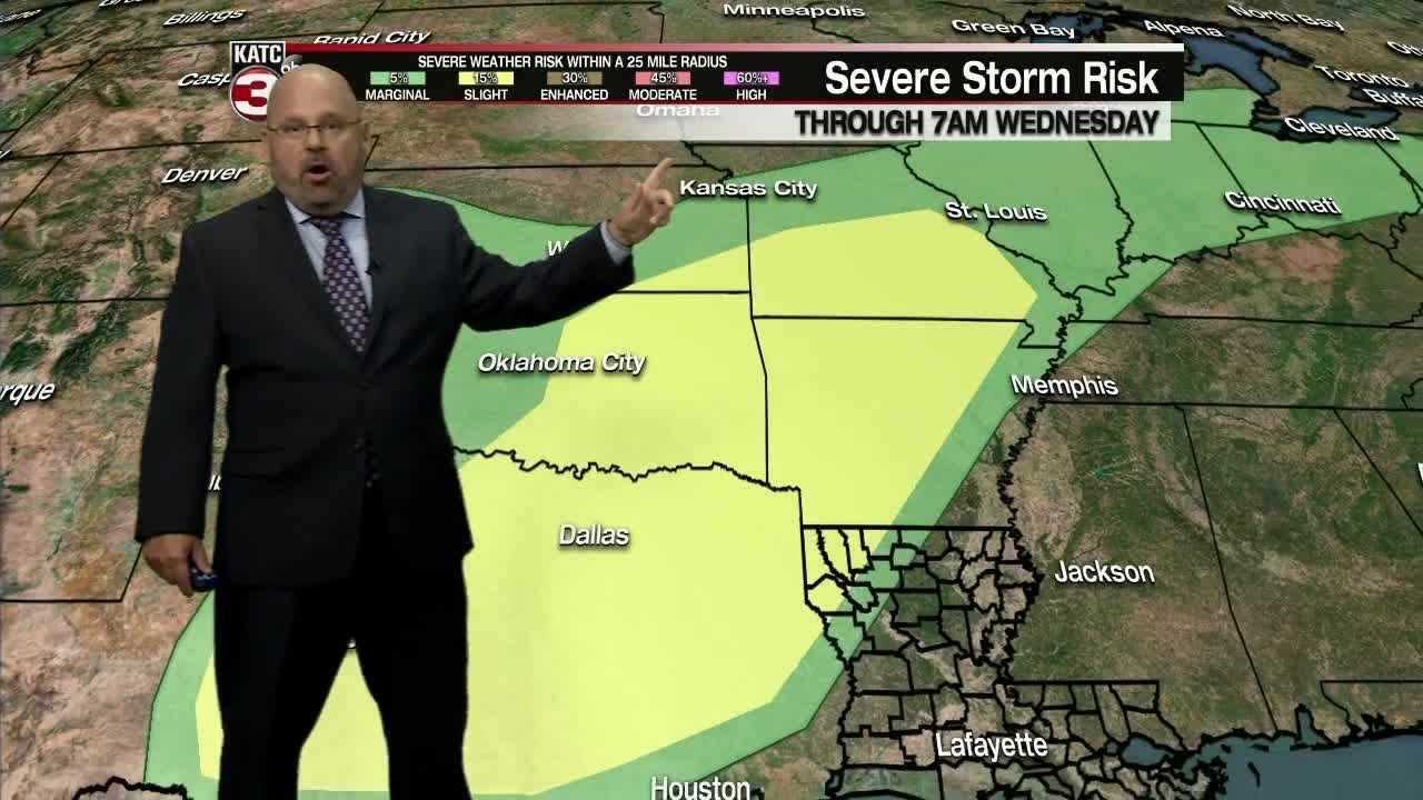 Rob's weather forecast 4-30-19 6pm