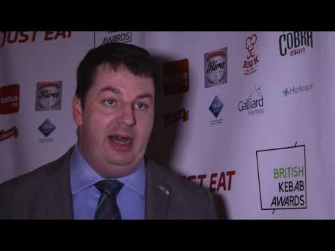 Andrew Percy MP, Minister for the Northern Powerhouse, British Kebab Awards 2017