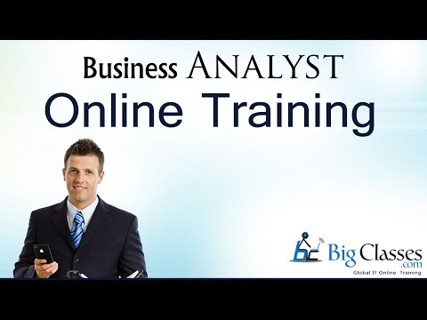 Business Analysis Training Tutorial -  Business Analyst Training Videos - BIgClasses