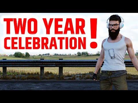 🔵 TWO YEAR YOUTUBE STREAM ANNIVERSARY!! PLAYERUNKNOWN's - BATTLEGROUNDS LIVE