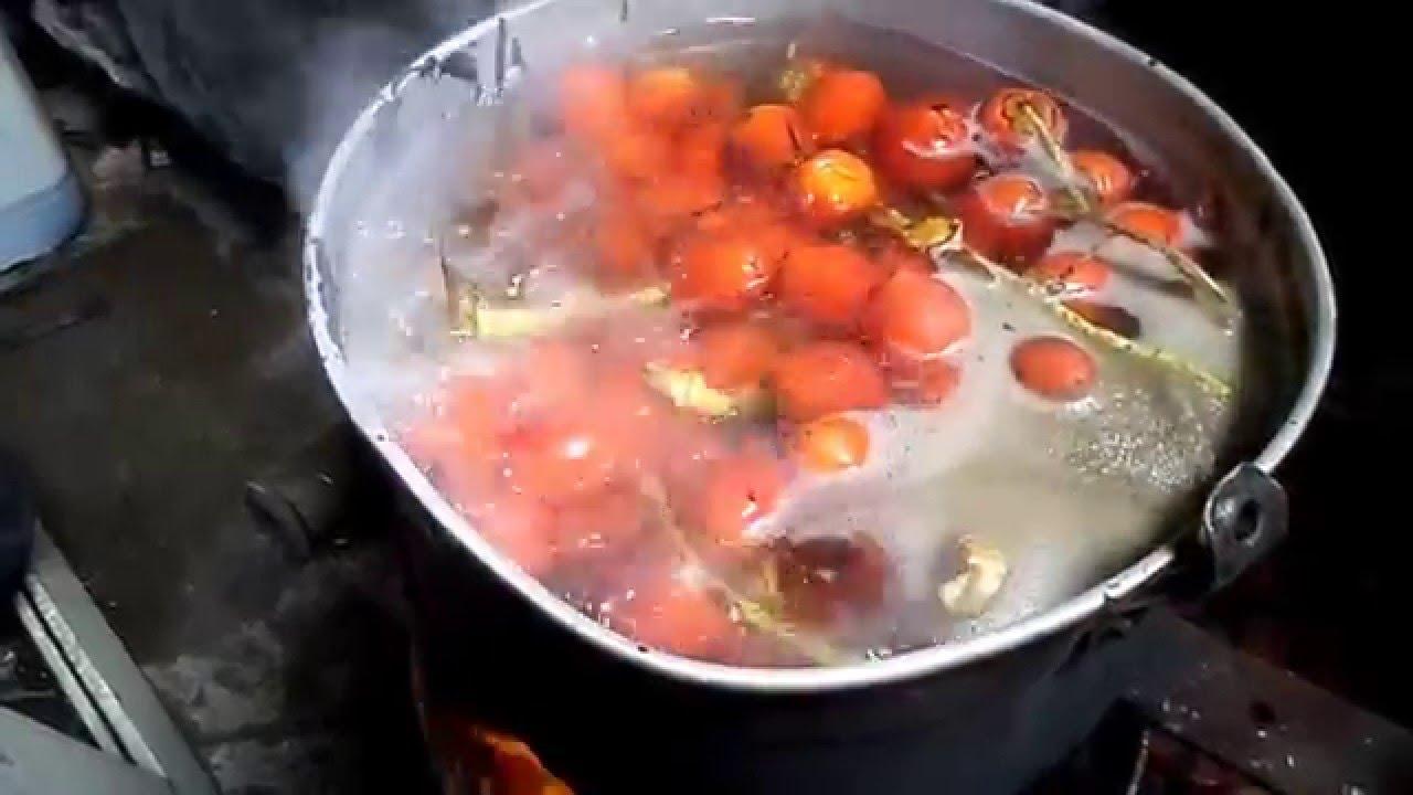 As se cocina el chontaduro en Silo  YouTube