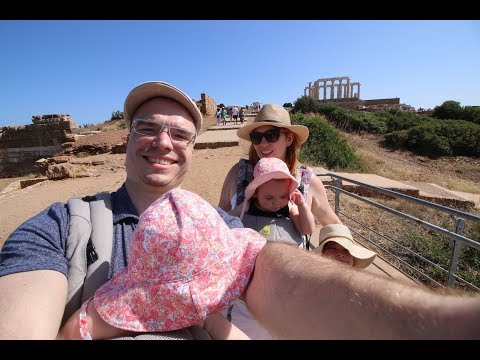 Day Trip From Athens to Cape Sounion to See The Temple of Poseidon + Amazing Greek Food in Lavrion