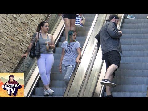 WET Fart Prank on The Escalator!!