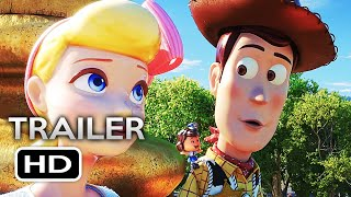 TOY STORY 4 Official Trailer 2 (2019) Tom Hanks, Tim Allen Disney Pixar Animated Movie HD