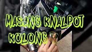 Cara Memasang Knalpot Kolong RX KING versi Remix