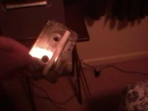 Broken cassette player in a karaoke machine re upload