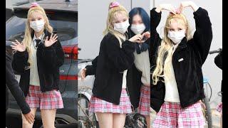 201022 여자친구 (GFRIEND) 은하 (EunHa) - JTBC 아는 형님 출근길 by ODS