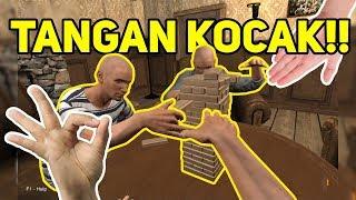 MOMENT KOCAK MAIN HAND SIMULATOR INDONESIA !!!