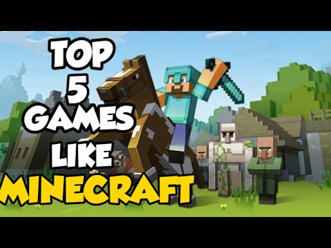 TOP 5 GAMES LIKE MINECRAFT ll BEST CRAFTING GAMES
