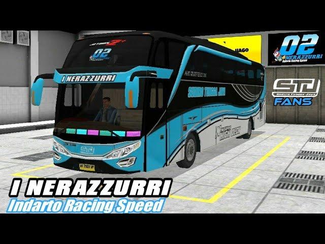 New Livery Bussid - STJ I NERAZZURRI