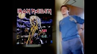 Iron Maiden - Original artist Derek Riggs talks about Eddie