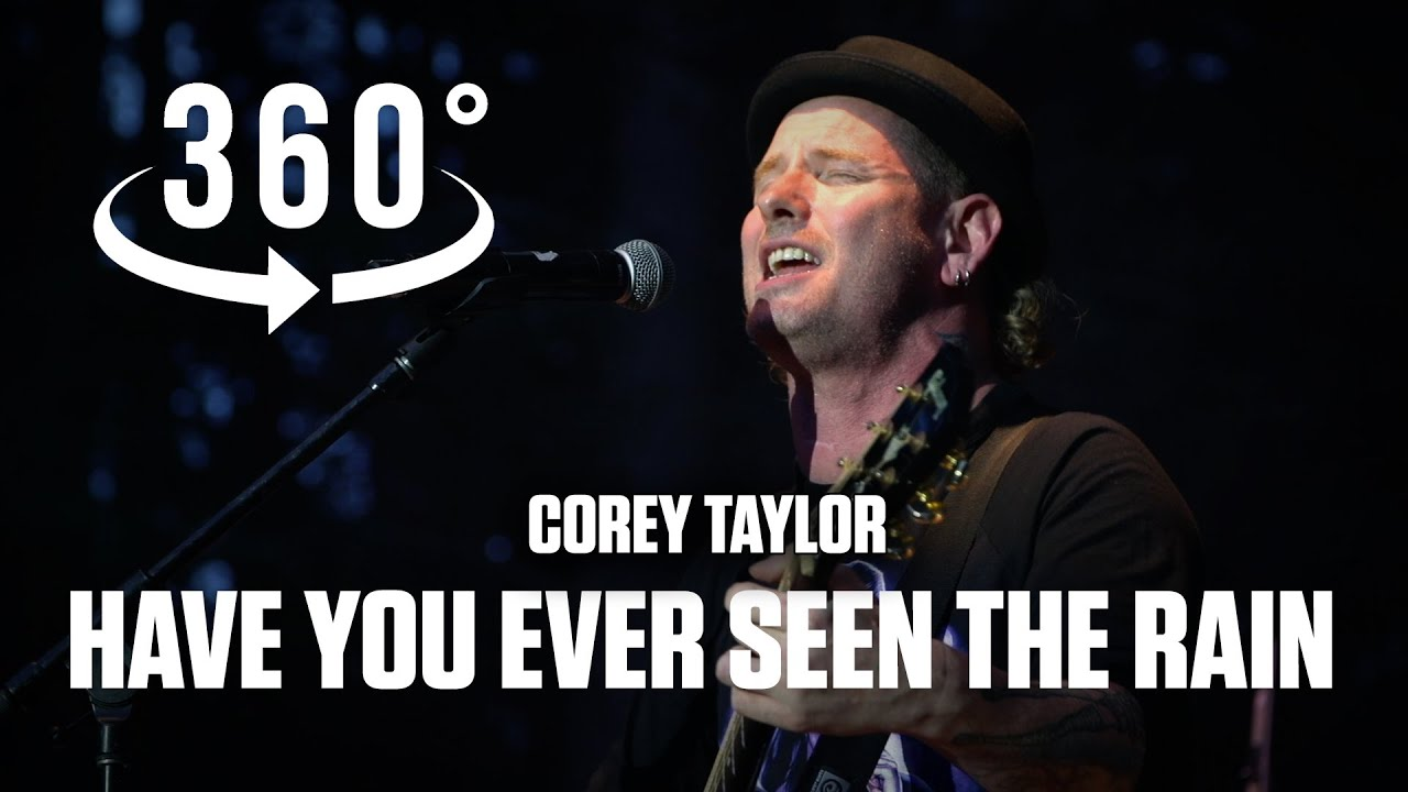 """Have You Ever Seen The Rain""  (CCR) - Corey Taylor  and Christian Martucci of Stone Sour in 360 VR"