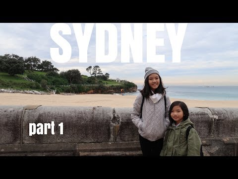 SYDNEY PART 1 : COOGEE BEACH, PADDY'S MARKET, BLUE MOUNTAIN, FEATHERDALE WILDLIFE PARK