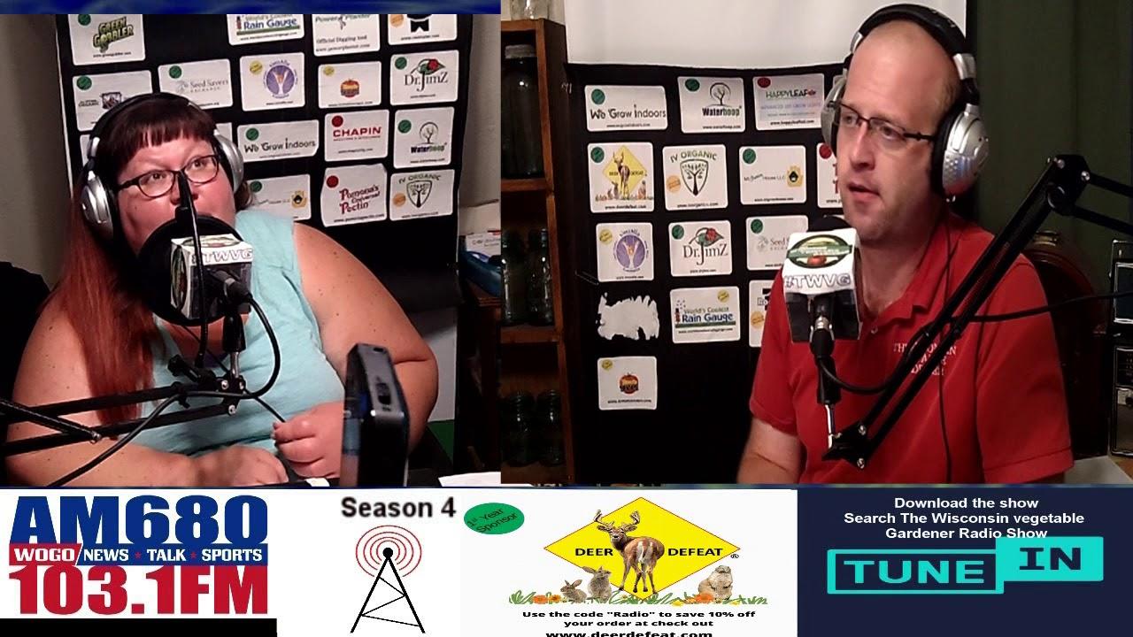 S4E18 Fall garden prep, Powdery Mildew - Guest Erin Schanen - Garden talk radio