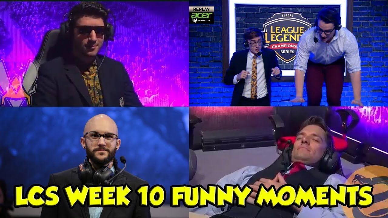 LCS WEEK 10 FUNNY/FAIL MOMENTS   2017 Summer time Cut up
