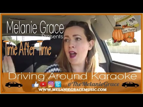 Time After Time   Driving Around Karaoke