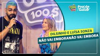 Dilsinho e Luísa Sonza - Não Vai Embora #Live Pagode do Gago #FMODIA