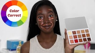 How to: color correct | ft. sephora + pantone universe correct & conceal palette