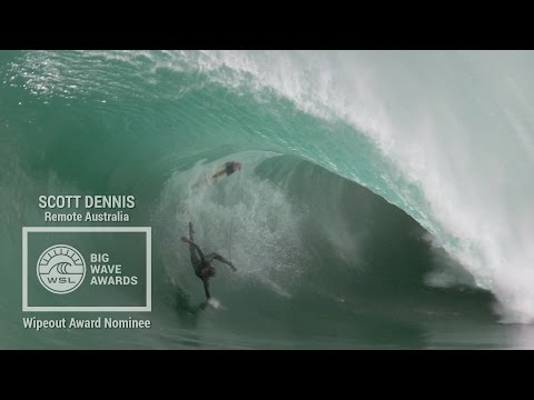 Scott Dennis at Remote Australia - 2015 Wipeout Award Nominee - WSL Big Wave Awards