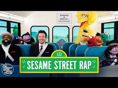 "Sesame Street 50th Anniversary Rap w/ Jimmy Fallon & Tariq ""Black Thought"" Trotter"