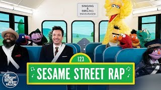 "Sesame Street 50th Anniversary Rap w/ Jimmy Fallon & Tariq ""Black Thought"" Trotter"