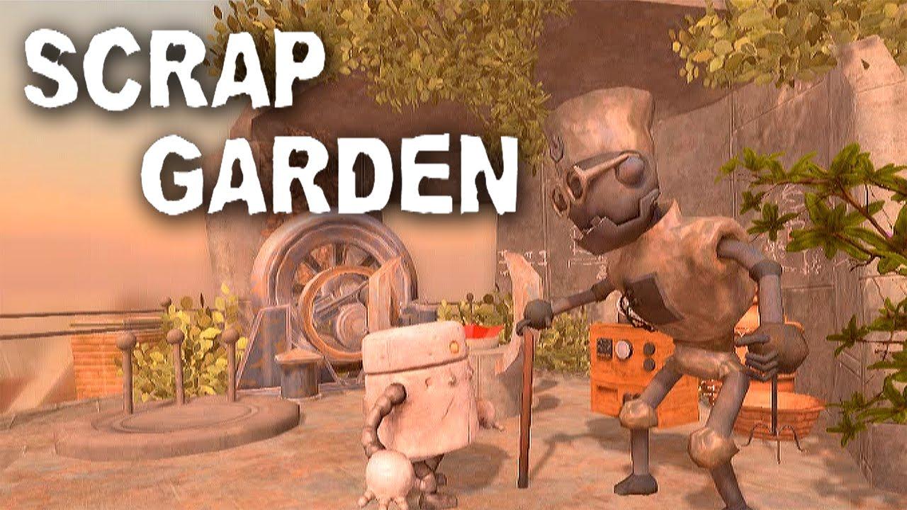 Scrap Garden - Post-Apocalyptic Robot Fun - YouTube