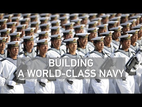 Subtle messages behind China's biggest naval parade