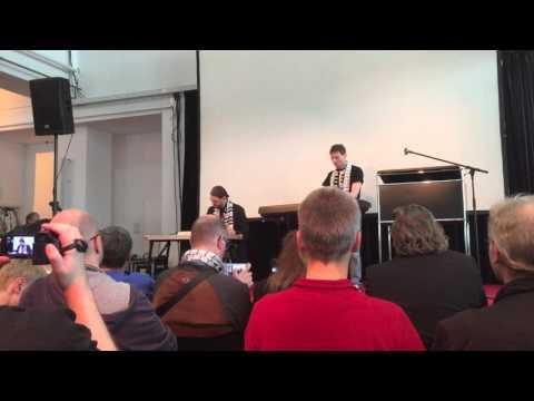 Patrick Nevian and Chris Huelsbeck play live at AMIGA's 30th anniversary