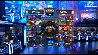 AFS (Kiin Kennen) VS GRF (Sword Chogath) Game 3 Highlights - 2018 LCK Summer Playoffs