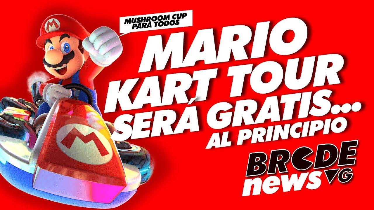 MARIO KART TOUR será GRATIS... al principio - YouTube