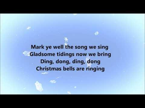 Nat King Cole - Caroling Caroling (Lyrics)