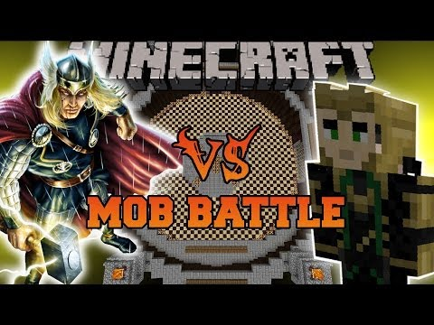 THOR VS LOKI - Minecraft Mod Battle - Mob Battles - Superheroes Unlimited Mods from YouTube · High Definition · Duration:  10 minutes 52 seconds  · 372.000+ views · uploaded on 4-2-2014 · uploaded by PopularMMOs