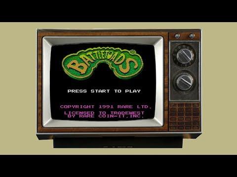 Mental Fox Plays the Classics: Battletoads [NES]