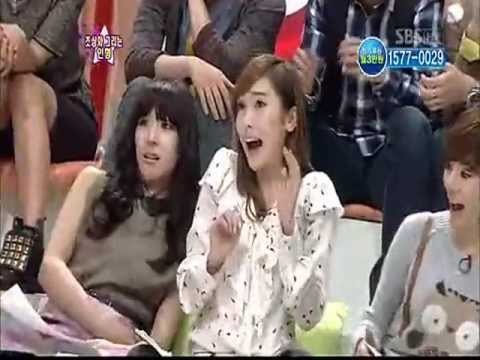 SNSD Jessica gets a slap and take a fright Cut @ Star king ...
