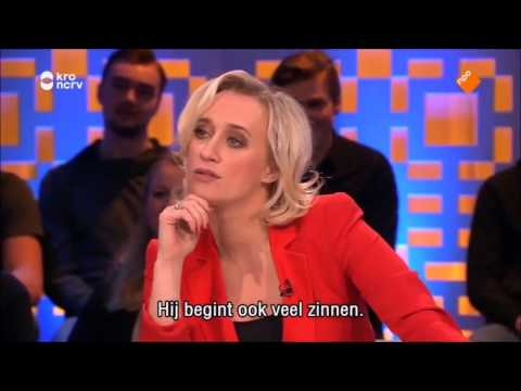 Hilarious Donald Trump Impersonator at Dutch TV show