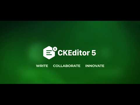 CKEditor 5 Collaboration Features Overview