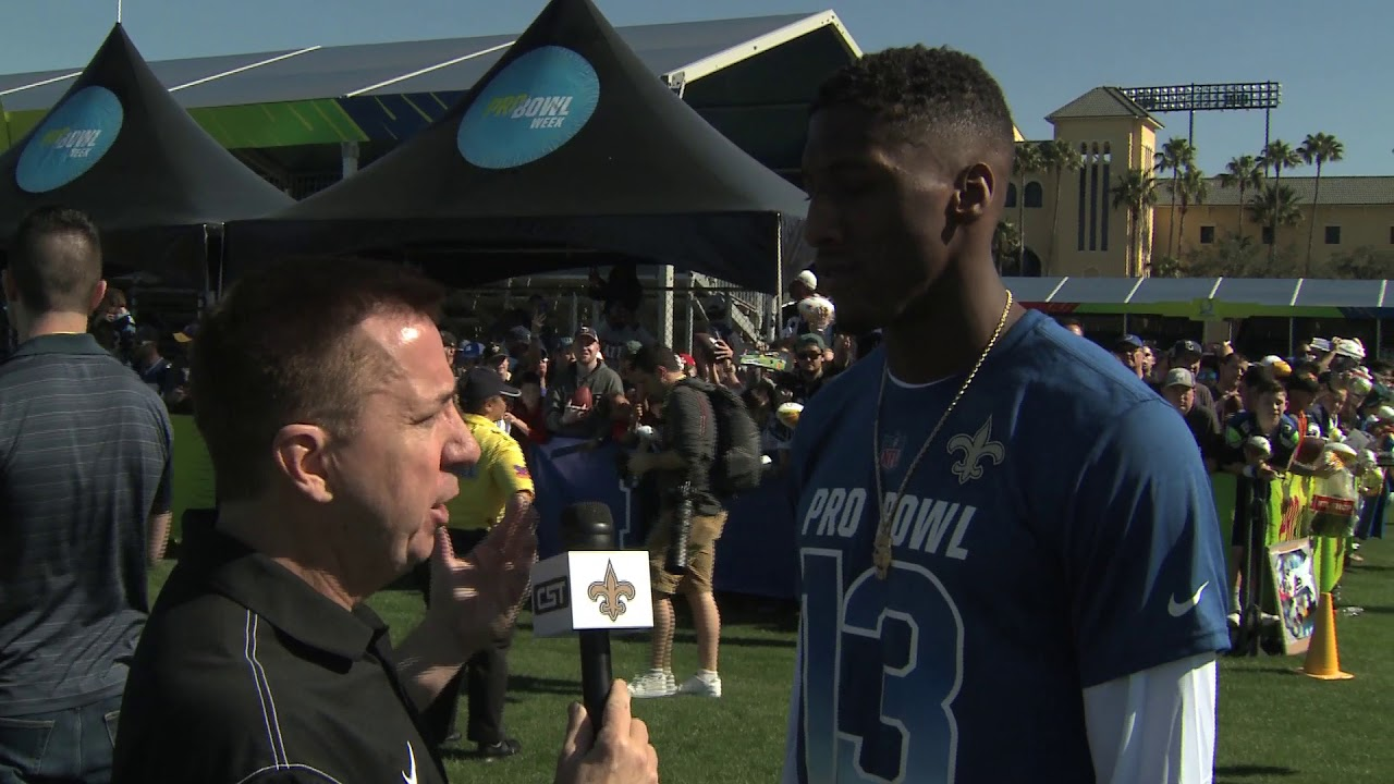 sports shoes 3bb41 71043 Michael Thomas Offers Sound Advice at His First Pro Bowl